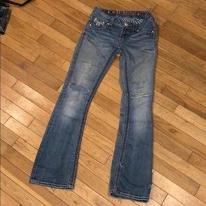 Rock Revival Jeans - Rick revival bootcut jean pants bottoms